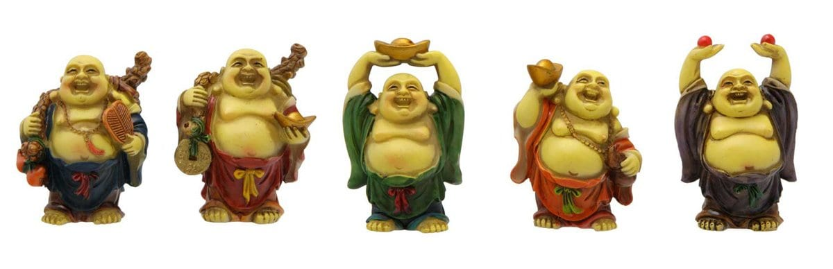 Happy Buddha Hand Positions