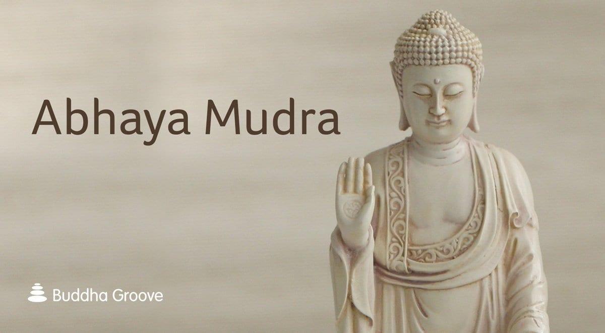 Buddhist mudras hand gestures of the buddha balance abhaya mudra no fear biocorpaavc Choice Image