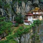 Would you climb two hours to reach this Buddhist monastery?