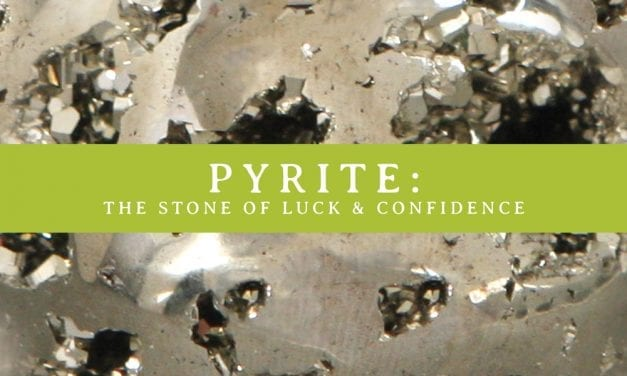 Spark Change with Pyrite Gemstone